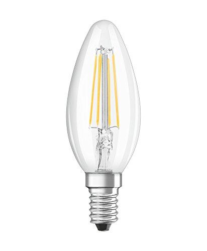 Osram 203297 Nachrüstung Klassische LED-Lampe E14 4 W Kunststoff Weiß