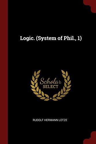 LOGIC (SYSTEM OF PHIL 1)