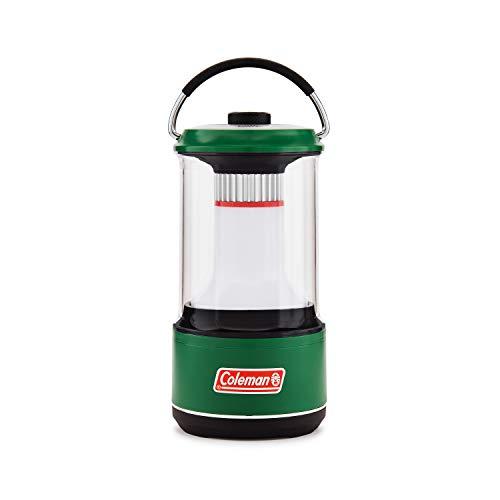 Coleman - Linterna LED (600 lúmenes, incluye protector de batería, color verde