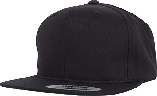 Flexfit Kinder Pro-Style Twill Snapback Youth Cap Kape, Black, 2-6 Jahre