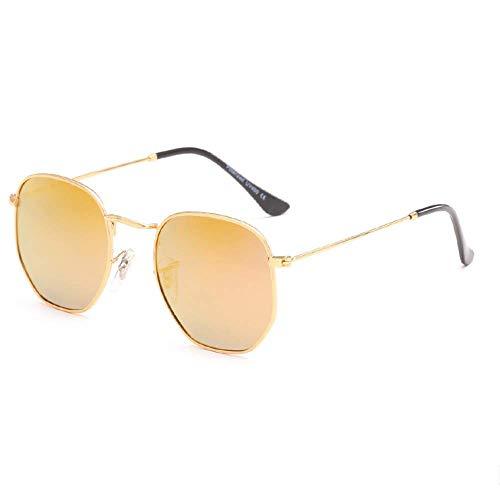 THJM Gafas De Sol Cuadradas Retro Para Hombres Y Mujeres. 13.3X13.6CM