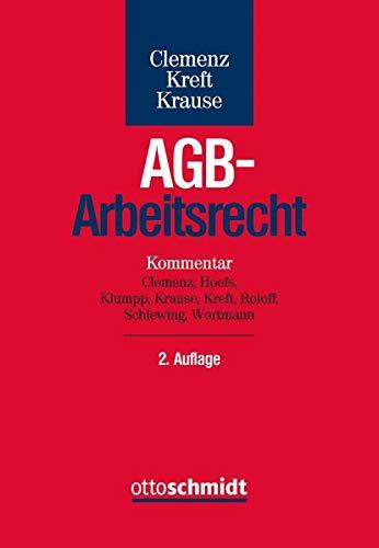 AGB-Arbeitsrecht: Kommentar