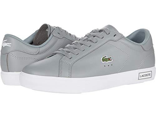 Lacoste Women's POWERCOURT 0520 1 SFA Sneaker, Grey/White 8 M US
