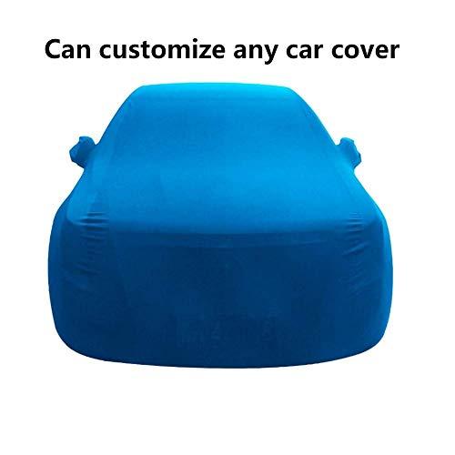 GBYYMX Funda Coche Cubierta del automóvil, Cubierta del automóvil, automóvil de protección Exterior, Cubierta Completa del automóvil, Compatible con Sibel Tuatara Fundas para Coche (Color : Blue)