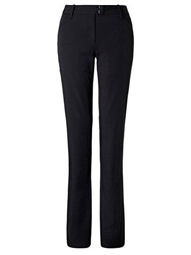 Callaway Solid Pantalon Long de Golf, Femme, Solid, Noir, 10-29
