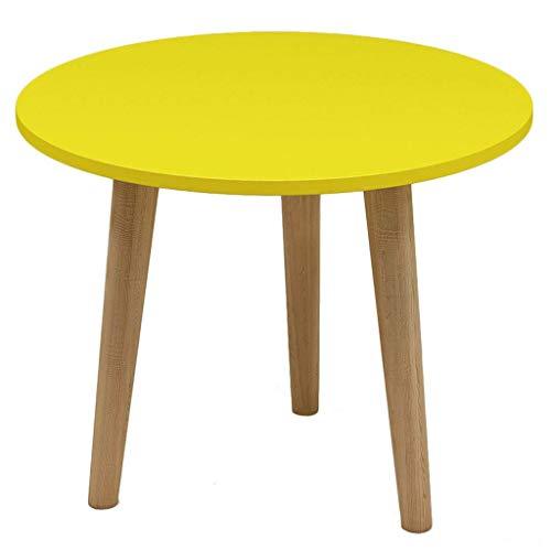 FGA Haupttisch Kleiner Couchtisch Massivholzmöbel dekoriert Wohnzimmerbalkon Wohn- und Bürotisch Chic (500 * 438mm)