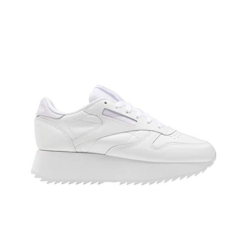 REEBOK CLASSIC LEATHER DOUBLE ZAPATOS DEPORTIVOS PARA MUJER BLANCO FY7264