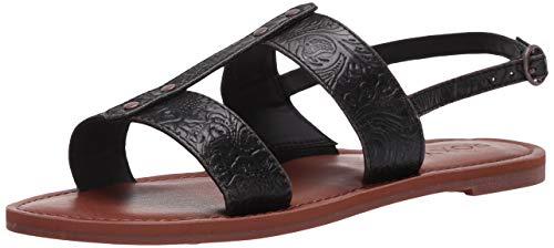 Roxy Chrishelle Gladiator Sandals, Femme, Noir, 41 EU