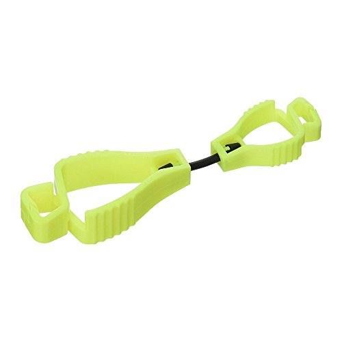 Glove Guard GG1939HVY-AMZN Plastic Clip Belt Attachment, Non Conductive, Standard, Hi Vis Yellow