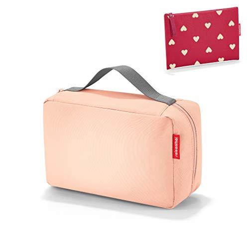 Reisenthel kids luiertas babycase + kleine tas case 1 ruby hearts roze