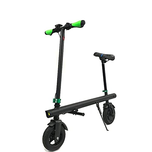 Patinete eléctrico con asiento | E way | E-SCOOTER PLEGABLE Urban PipeBike | Patinete eléctrico adultos | Motor 36V/250W | Peso 11.26 kg | Velocidad 25Km/h | Rueda 8