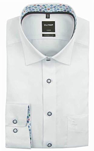 OLYMP 1334/54 Hemden, weiß(Weiss), Gr. 46