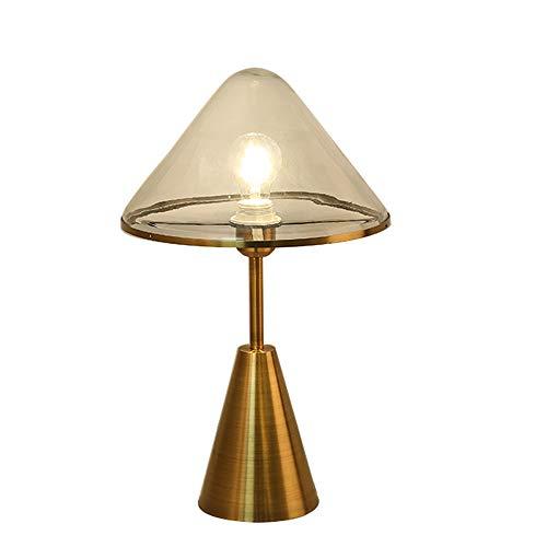 Creative Lampes De Table De Chevet, Nordic LED Verre En Fer Forgé Décoration Or Bureau Lumière Moderne Minimaliste Hôtel Salon Chambre Table Lampe
