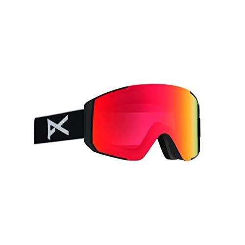 Anon Herren Sync Snowboard Brille, Black/Sonarred