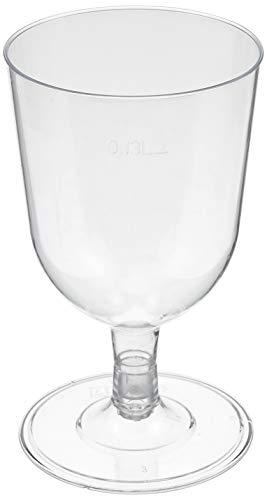 プラスチックワイングラス(4個入) GJ550PT