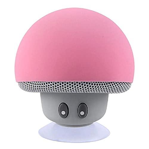 Ydh Wasserdichter tragbarer Stereo-Mini-Bluetooth-Pilzlautsprecher Mic für...