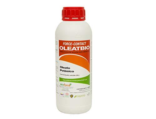 Jabón Potásico de 1 L. Insecticida ecológico con registro para agricultura. Actúa por contacto. eficacia contra: mosca blanca, araña roja, trips, cochinillas o pulgones