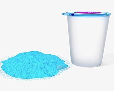Decoloración azul en polvo