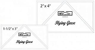 bloc loc rulers flying geese