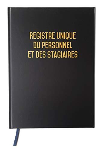 Registre unique du personnel + Registre des stagiaires Version 2021-100 pages - Qualité premium