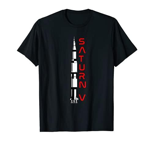 Apollo Saturn V Mond Rakete T-Shirt