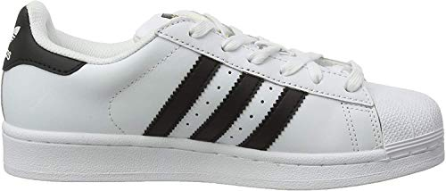adidas Superstar, Zapatillas de deporte Unisex Adulto, Blanco (Ftwr White/Core Black/Ftwr White), 40 2/3 EU