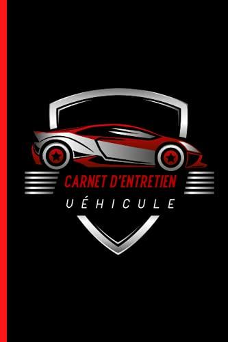 Carnet d'entretien véhicule: universel   simple et pratique   fiche à compléter pour chaque intervention   accessoire voiture moto scooter