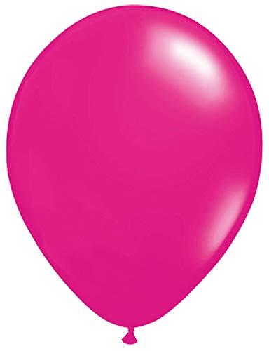 Palloncini magenta 30 cm - 100 pezzi