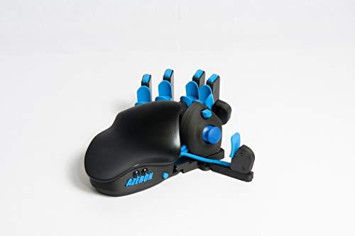 Azeron Compact Gaming Keypad – Programmierbare Gaming-Tastatur für PC-Gaming – 3D-gedruckte Tastatur mit Analog-Thumbstick und 24 programmierbaren Tasten für die linke Hand (blau)