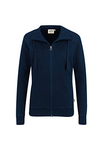 Hakro WOMEN-SWEATJACKE COLLEGE # 406 (M, tinte)