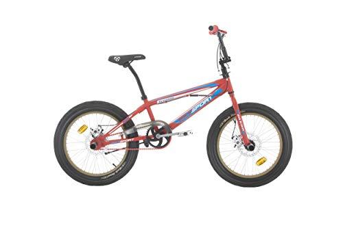 BIKE SPORT LIVE ACTIVE Bikesport HANIBAL 20 Zoll BMX Fahrrad Freestyle 4 Stahl Pegs