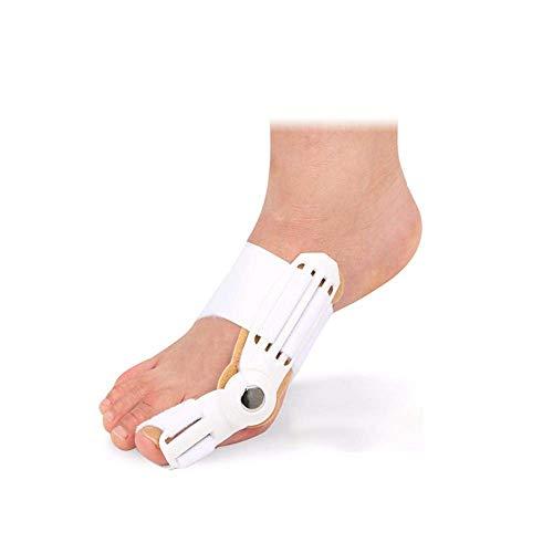 Separadores del Dedo Gordo del pie, Dispositivo para el Dedo del pie Férula Enderezadora Tirantes Corrección del Dedo del pie Pulgar del pie Ortesis Diaria, Ortesis