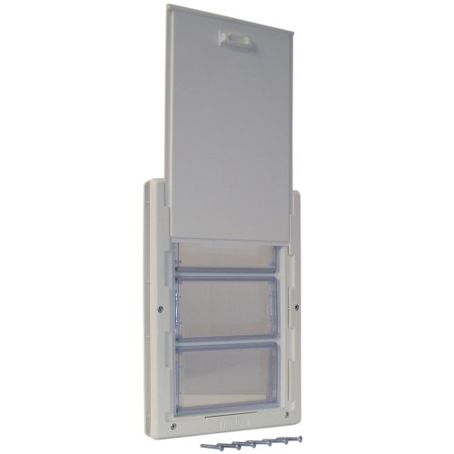 "PERFECT PET Multi-Flex Pet Door, Extra Large, 10.25"" x 15.75"" Flap Size"