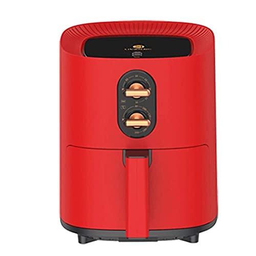 LYYJIAJU Freidora de Aire Cocina 8L Fryers Aceite Aire Libre Air 1350W Capacidad Automático Capacidad de Gran Capacidad Botón Ajustable de Aire de bajo Aceite, Pan de no Stick