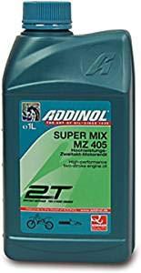 BISOMO 2-takt motorolie MZ405 Super Mix - mineraal rood gekleurd voor Simson, MZ, Trabant