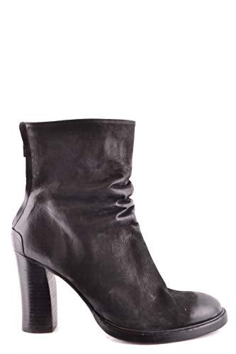 THE LAST CONSPIRACY Luxury Fashion Damen TLC1787001 Schwarz Leder Stiefeletten | Frühling Sommer 20