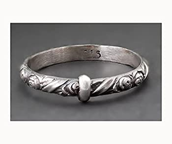 Claires Rose Key Ring © Outlander Sterling Silver Blade in Bow Ring-Skölland Jewelry