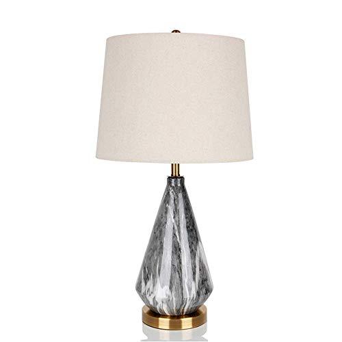 Hogreat Lámpara de Mesa Moderno Minimalista Creativo Dormitorio de cerámica Sala de Estar de Aprendizaje B&B Hotel lámpara Decorativa lámpara de Mesa