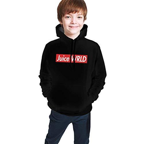 Hengtaichang Unisex Juice WRLD Logo Youth Hoodie,Boys Girls Long Sleeve Pullover Hooded Sweatshirt with Pocket