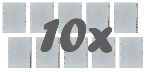 10er Sparpack 5-Star Buchstabenregister