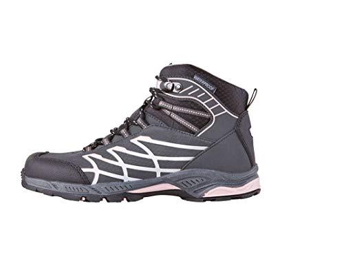 Crivit Zapatillas de trekking para niña, para actividades al aire libre, deporte, tiempo libre, a prueba de espera