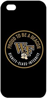 NCAA Design Wake Forest Durable Plastic Cases for iPhone 7 PLUS 5.5 Inch - Black Casing for iPhone 7 PLUS 5.5 Inch
