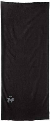[バフ] 多機能ヘッドウェア ネックカバー ORIGINAL UVカット ストレッチ 透湿 速乾 抗菌 防臭 使い方10通り以上 [日本正規品] 334350:SOLID BLACK EU 22.3×53cm (FREE サイズ)