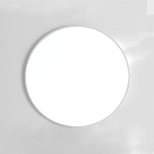 Espejo Redondo, Espejo Redondo De Baño, Espejo De Pared Redondo En Varias Medidas, Blanco, Negro, Dorado, Adecuado Para Colgar En La Pared Decoración, Tocador, Sala De Estar, Dormitori, Espejo Decorat