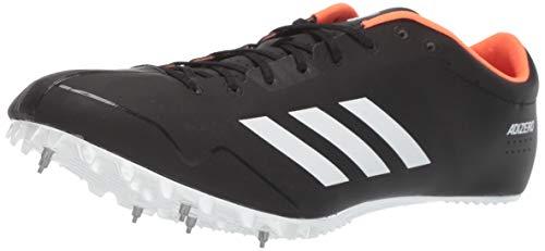 adidas Adizero Prime sp Running Shoe, core Black, FTWR White, Orange, 9 M US