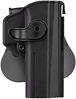 IMI-Defense CZ Shadow 2 Gun Holster, Level 2 Safety Retention, trriger Guard Lock w 360 ROTO Paddle Polymer Holster fits P-09
