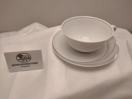 Juego de 6 tazas de té de 0,23 l con platillo de 14,5 cm Línea Maxi de Paris – DEC.15013 – MARQUIS Hutschenreuther
