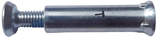 Rollerblade Achse für Inliner Typ Omega für Alu-Frame, Länge 29,5 mm, Ø 8mm (kurz)