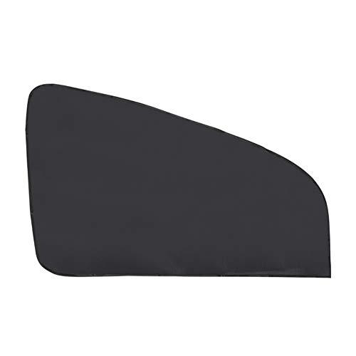 Porfeet Autofenster Sonnenschutz, Magnetische Auto Seitenfenster Schatten Sonnenschutz Mesh Stoff UV Schild Schild Fahrzeugvorhang Schwarz Seitenfenster Sonnenschutz