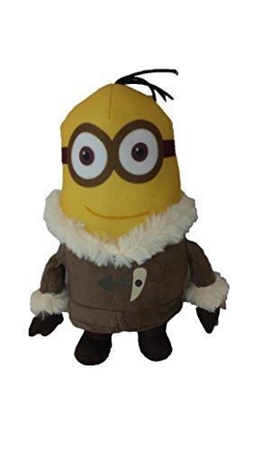 Muñeco de Peluche de Personaje Minion con Abrigo para el Frío - Kevin
